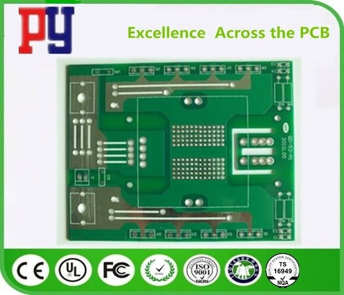 Hasl Surface Finish Pcb Printed Circuit Board , Single Layer Pcb Fabrication