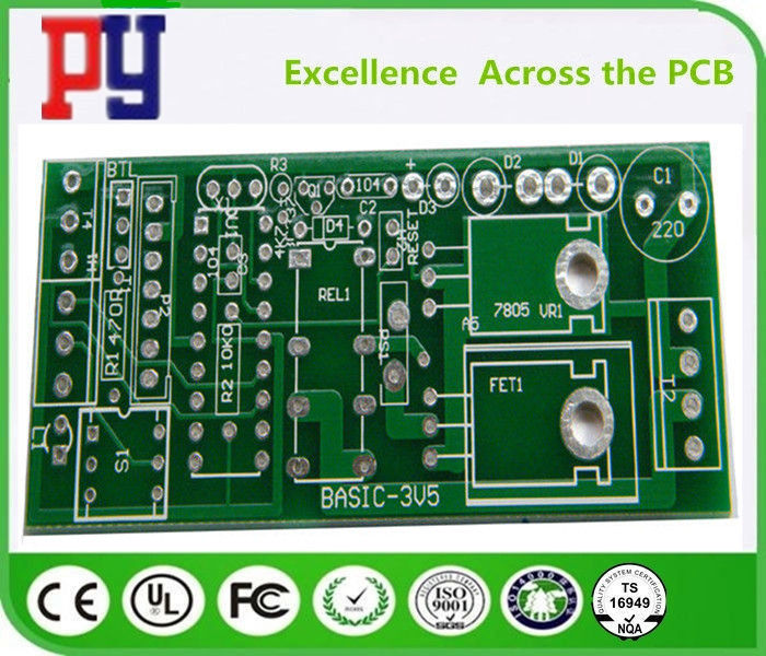 High Precision Printed Circuit Board Assembly 1.6mm Thickness Double Side